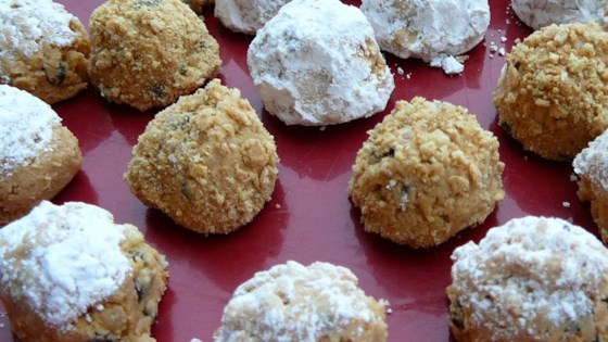 'Whitney''s Peanut Butter Cookie Balls Recipe '