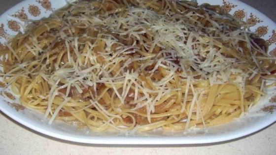 Anchovy Linguine Recipe