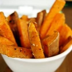 Baked Sweet Potatoes with Honey and Ginger Recipe