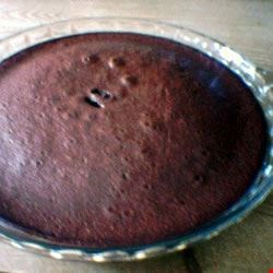Impossible Brownie Pie Recipe
