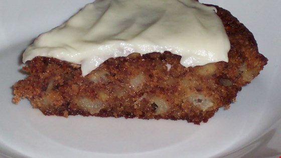 French Apple Pie with Cream Cheese Topping Recipe