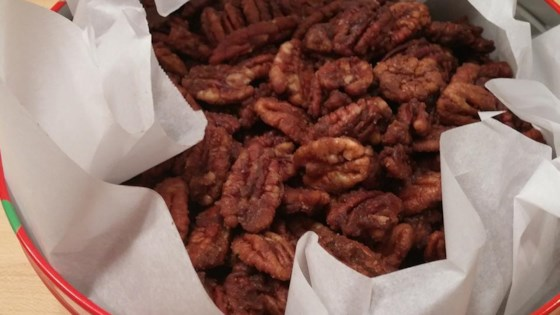 Microwave Spiced Nuts Recipe