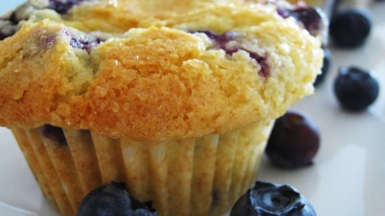'Aunt Blanche''s Blueberry Muffins Recipe '