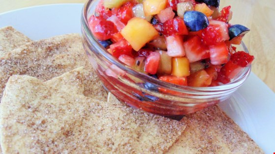 'Annie''s Fruit Salsa and Cinnamon Chips Recipe '