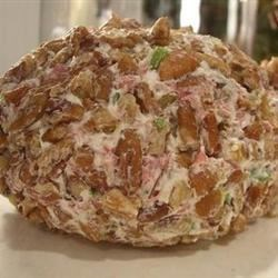 Cream Cheese and Chopped Dried Beef Ball Recipe