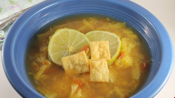 Pineapple, Lime, and Ginger Soup Recipe