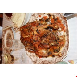 Roast Goose with Stuffing Recipe