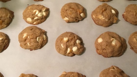 Apricot and White Chip Cookies with Almonds Recipe