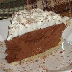 Sinfully Delicious Chocolate Pie Recipe