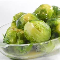 Brussels Sprouts in Mustard Sauce Recipe