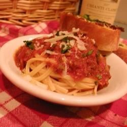 Bolognese Sauce with Meat Recipe