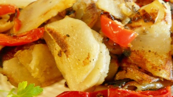 Potatoes and Peppers Recipe