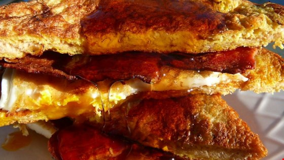 French Egg and Bacon Sandwich Recipe