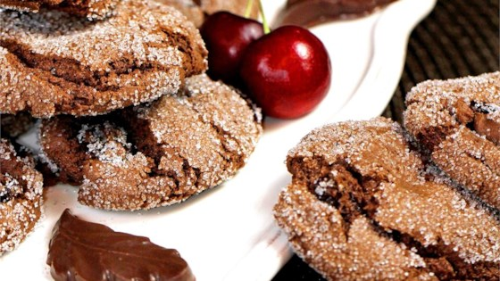 Easy Chocolate Crackled Cookies Recipe