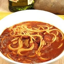 Spicy Red Bean Soup Recipe